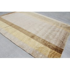 RS121 Gorgeous Neutral Color Hand Crafted Tibetan Area Rug 8' X 10' Hand Knotted in Nepal