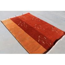 R4434 Gorgeous Contemporay Tibetan Handmade Woolen Rug 5.7' x 8' Made In Nepal