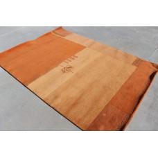 R4380 Gorgeous one-of-a-kind Tibetan Woolen Area Rug 5.7' x 8' Handmade in Nepal