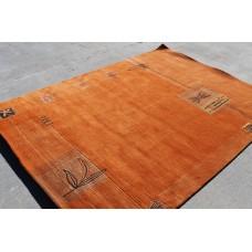 R15732 Exclusive Tibetan Contemporary Woolen Area Rug 5.7' x 7.10' Handmade in Nepal