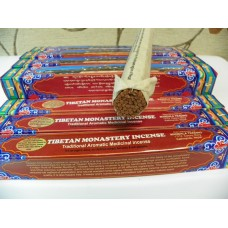 T392 Hand Rolled Tibetan Monastery Incense Stick made in Nepal