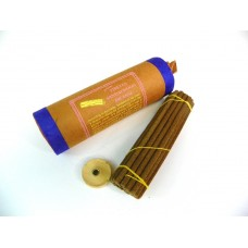 T623 hand Rolled Tibetan Sandlwood Buddhist Re-treat Incense Sticks made in Nepal